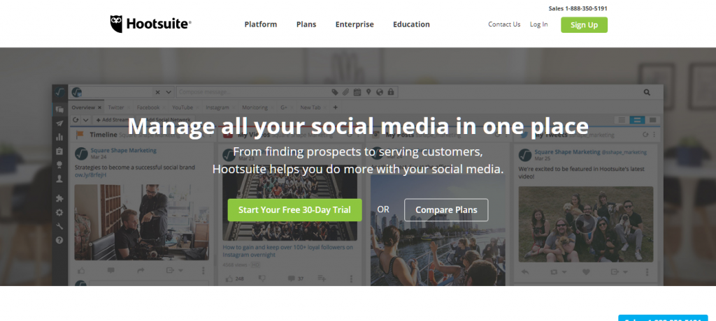 Hootsuite Social Media Marketing