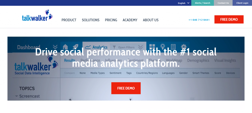 Social Media Analytics with Talkwalker