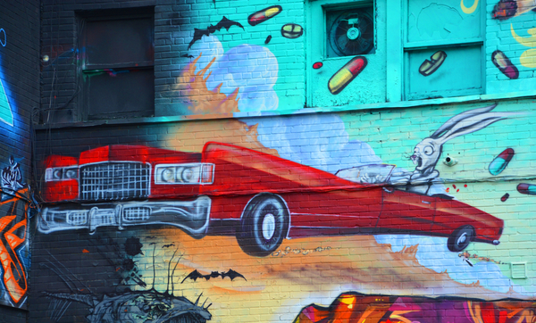 Street art Montreal Canada