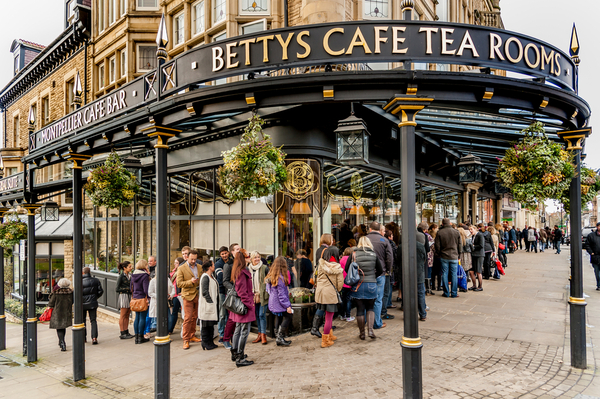 Betty's Tea Rooms, York England
