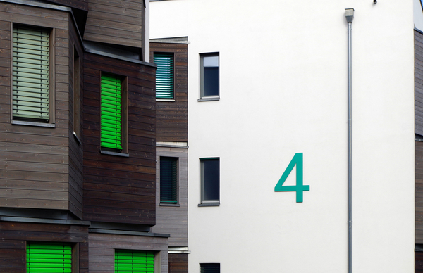 european house number