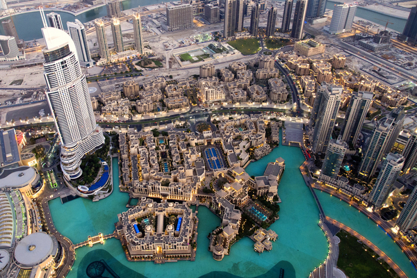 Dubai view from above