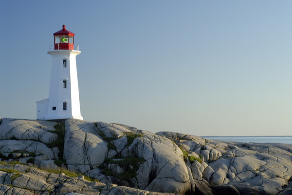 Canadian Maritimes Lighthouse