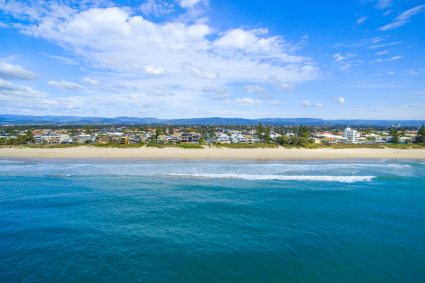 The Gold Coast Strip Mermaid Beach Australia