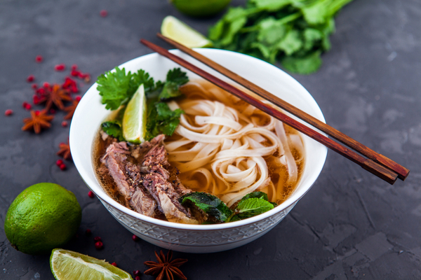 Pho ( Vietnam and Thailand )
