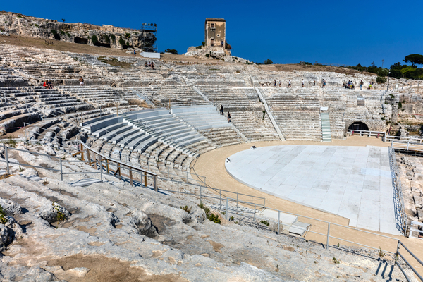 Siracusa, Sicily Greek Theatre