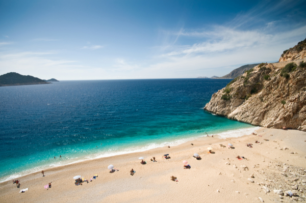 kas turkey beach